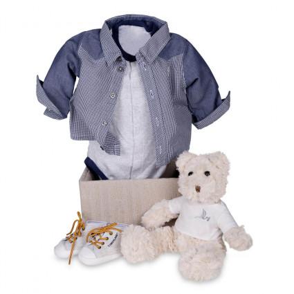 regalo bebé Set Bodies Timberland