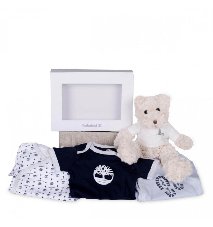 regalo bebé Set bebé bodies Timberland