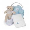 Canastilla Bebé Spa Esencial Azul