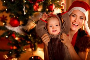 navidad y rutina del bebé