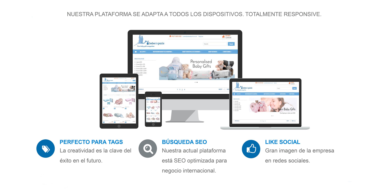 Web multiplataforma BebedeParis
